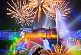 Праздник закрытия фонтанов в Санкт-Петербург